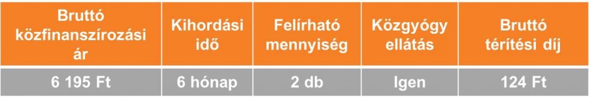 OB kompressziós combcsonk harisnya (II. komporesszió)